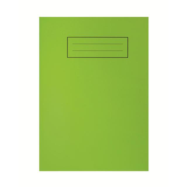 A5 Bright Green Exercise Book From Ocado