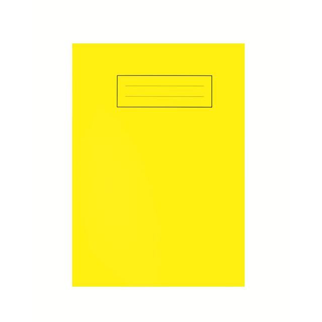 A5 Bright Yellow Exercise Book from Ocado