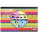 Coloured Revision & Presentation Notecards