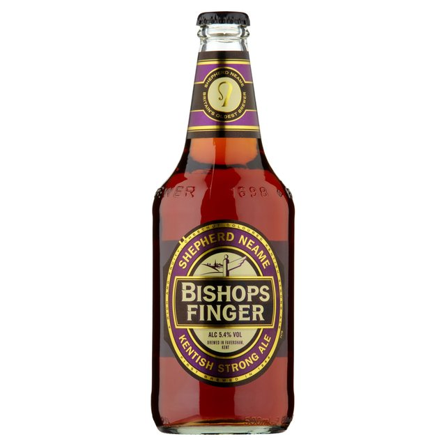 Shepherd Neame Bishops Finger Strong Ale 5.4% ABV