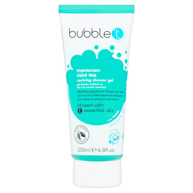 Bubble T Shower Gel, Moroccan Mint Tea
