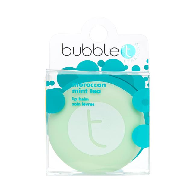 Bubble T Macaroon Lip Balm, Moroccan Mint Tea