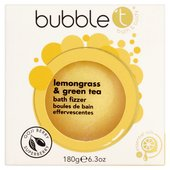 Bubble T Bath Fizzer, Lemongrass & Green Tea