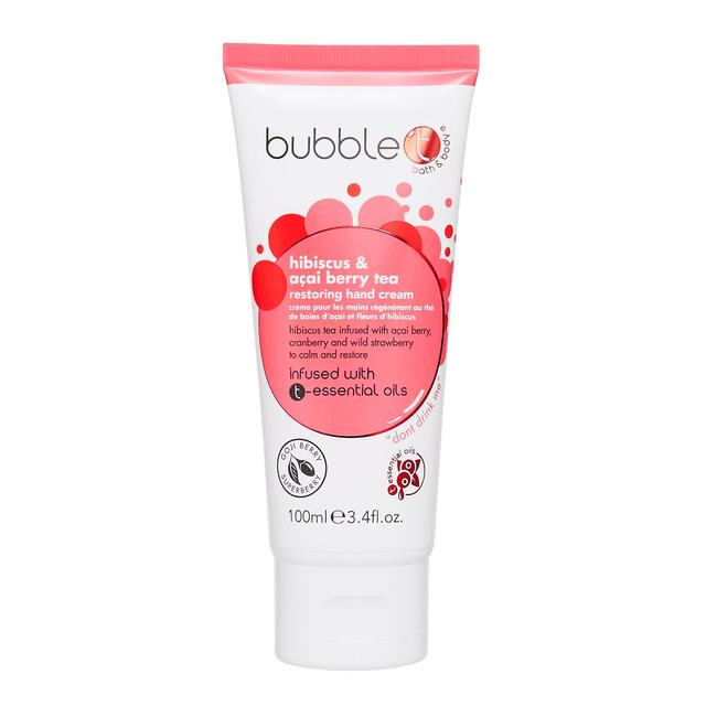 Bubble T Hand Cream, Hibiscus & Acai Berry Tea
