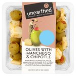 Unearthed Chipotle Olives with Manchego