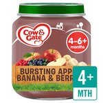 Cow & Gate Bursting Apple, Banana & Berries Jar