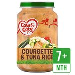 Cow & Gate Courgette & Tuna Rice Jar
