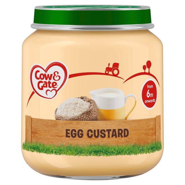Cow & Gate Egg Custard Jar | Ocado