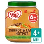 Cow & Gate Carrot & Lamb Hotpot Jar