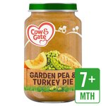 Cow & Gate Pea & Turkey Pie Jar