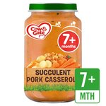 Cow & Gate Succulent Pork Casserole Jar
