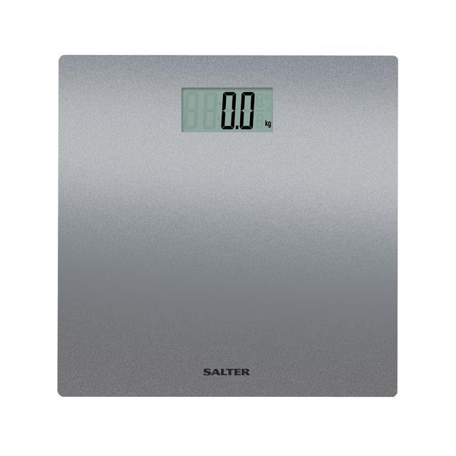 Salter Silver Glitter Bathroom Scale