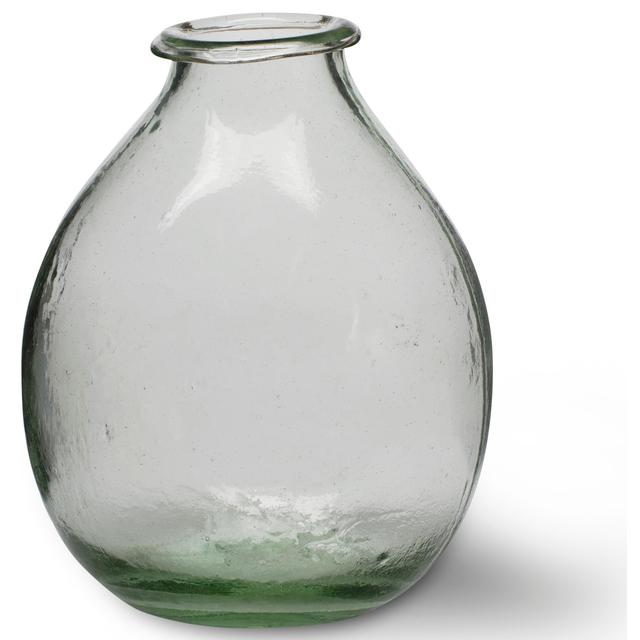 Large Recycled Glass Vase By Garden Trading 19cm From Ocado
