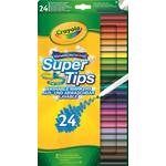 Crayola 24 Supertips, 4yrs+
