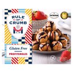 Rule of Crumb Salted Caramel & Chocolate Sauce Profiteroles