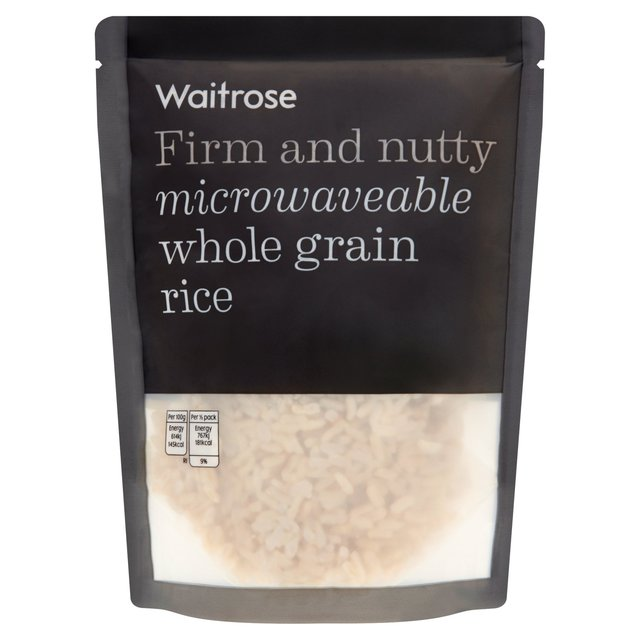 Image result for waitrose whole grain rice packet