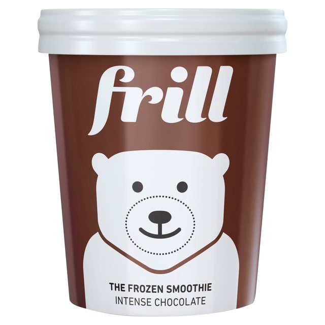 frill the frozen smoothie intense chocolate 500ml from ocado