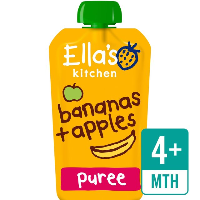 Ella's Kitchen Organic Apples & Bananas Stage 1