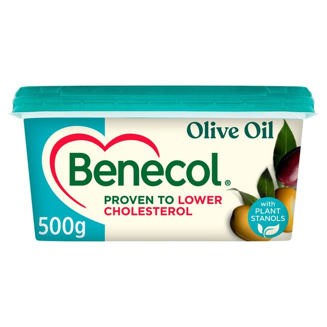 Benecol Cholesterol Lowering Spread Olive