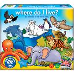 Orchard Toys Where do I live, 3yrs+