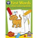 Orchard Toys First Words Colouring Book 4+