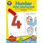 Orchard Toys Number Colouring Book 4+