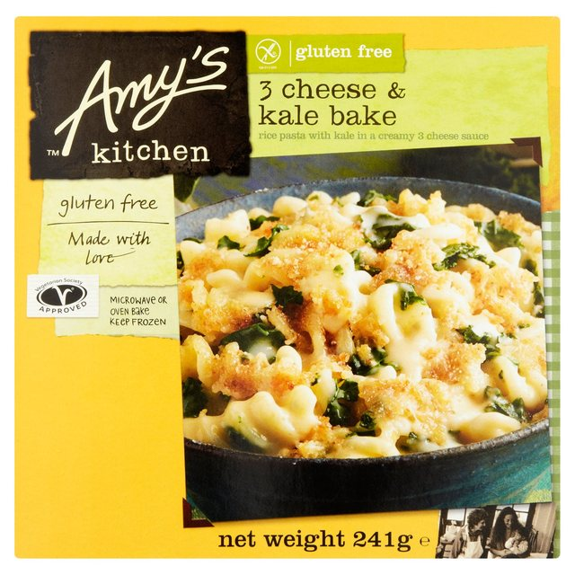 Amy S Kitchen 3 Cheese Kale Bake Ocado