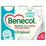 Benecol Cholesterol Lowering Original Yogurt Drink No Added Sugar