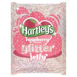 Hartley's Raspberry Glitter Crystal Jelly
