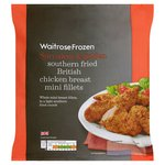 Waitrose Frozen Southern Fried Mini Chicken Fillets