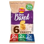 Walkers Oven Baked Variety Snacks 25g x