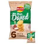 Walkers Baked Salt & Vinegar Snacks 25g x