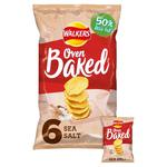 Walkers Baked Ready Salted Snacks 25g x