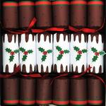 Deluxe Christmas Pudding Crackers