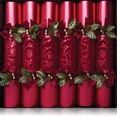 Deluxe Red Velvet Crackers