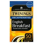 Twinings Decaffeinated English Breakfast Tea Bags