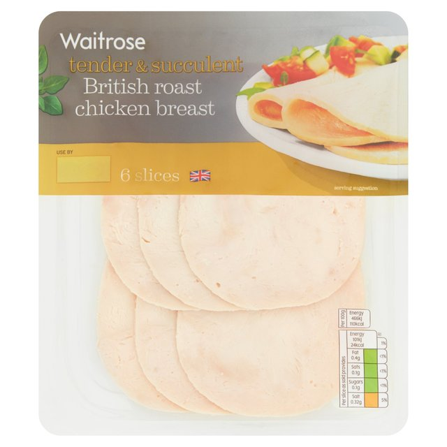 Waitrose British Roast Chicken Breast | Ocado