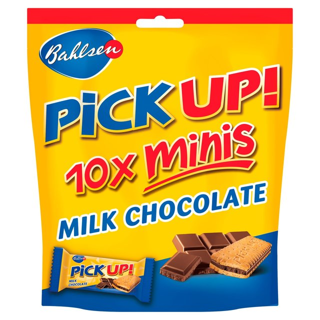 Bahlsen Pick Up! Chocolate Minis 10 per pack from Ocado