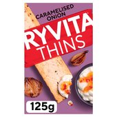 Ryvita Caramelised Onion Thins