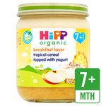 HiPP Organic Breakfast Duet Tropical Muesli
