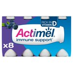 Actimel Blueberry Drinking Yogurts