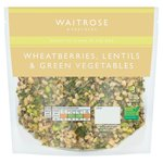 Waitrose Wheatberries, Lentils & Green Vegetables