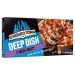 Chicago Town 2 Deep Dish Mega Meaty Pizzas