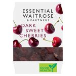 Essential Waitrose Dark Sweet Cherries Frozen