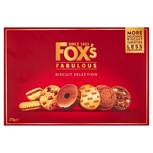 Fox S Fabulously Biscuit Selection Ocado