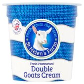 St Helen's Farm Goats Milk Double Cream