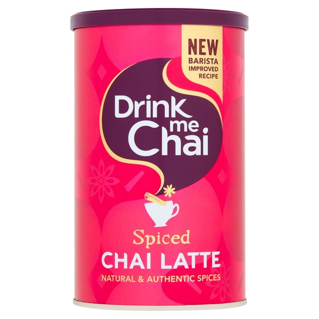 Ocado: Drink Me Spiced Chai Latte 250g(Product Information)