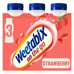 Weetabix On The Go Strawberry Drinks