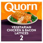 Quorn Chicken & Bacon Lattice