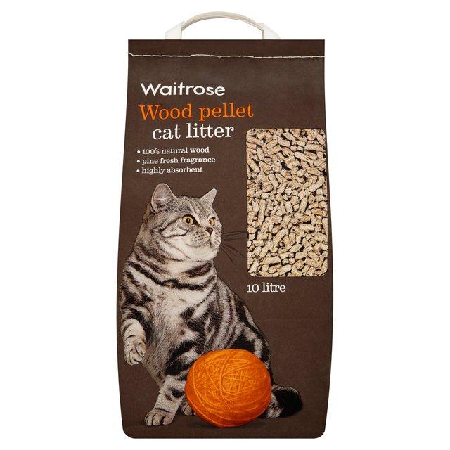 image cat litter. Beautiful Image Waitrose Cat Litter Wood Pellet Intended Image S